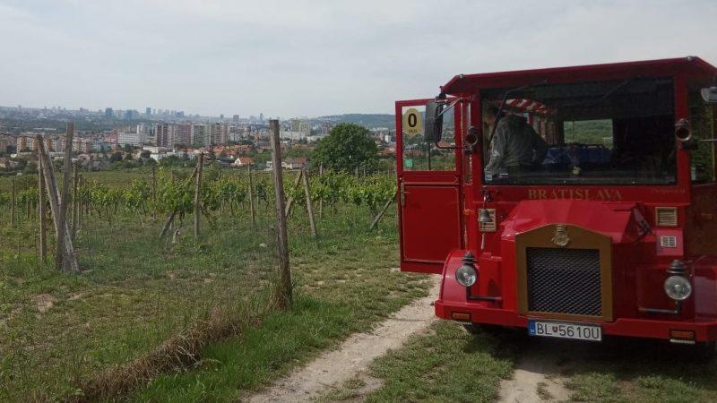 Bude do vinohradov nad Račou jazdiť vyhliadkový vláčik?