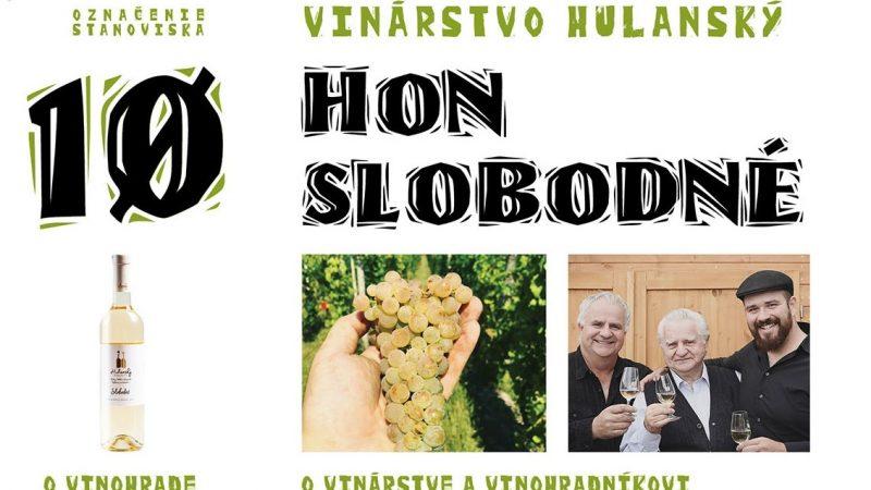 10 Hon Slobodné / Lukáš Hulanský