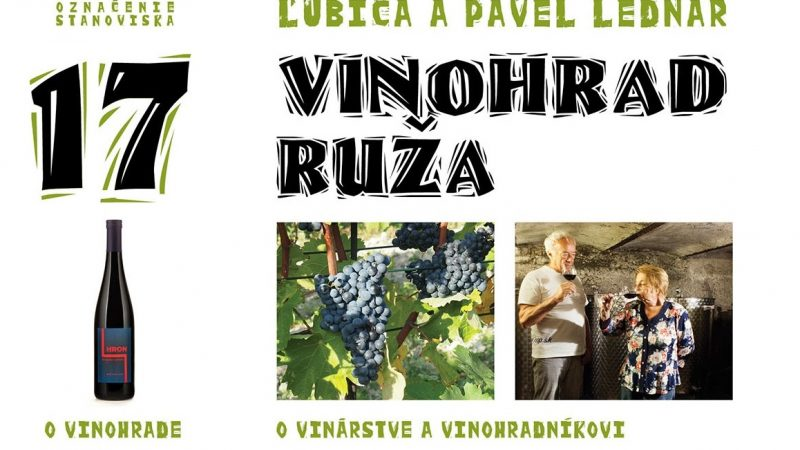 17 Vinohrad Ruža / Ľubica a Pavel Lednárovci